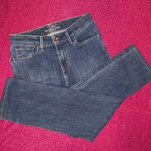 Levi's Demi Curve Classic Denim Blue Jeans